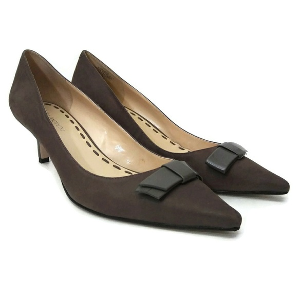 Enzo Angiolini Shoes - Womens ENZO ANGIOLINI Brown Pointed High Heels 10M